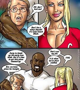 Black cock comic